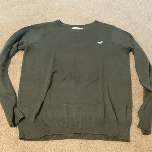 Olive long sleeve Hollister sweater